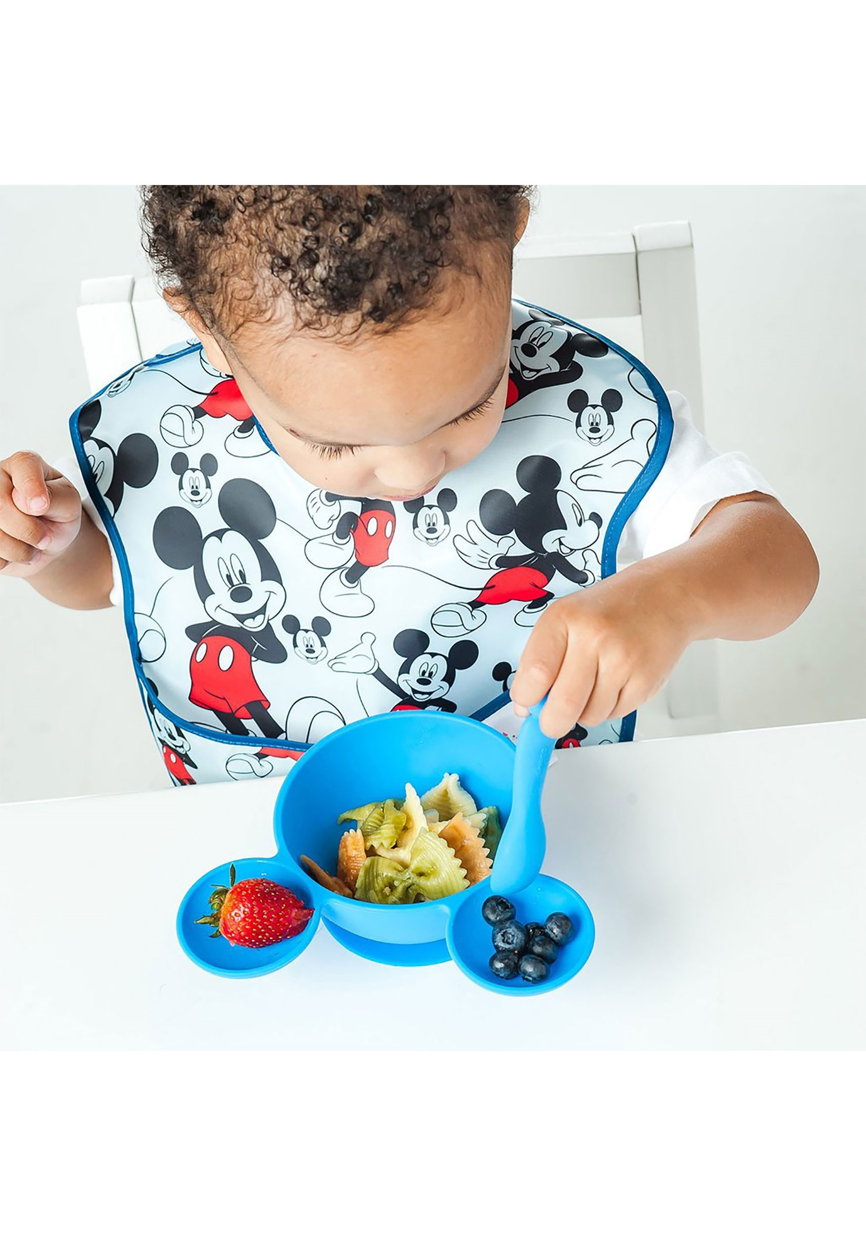Mickey Mouse First Feeding Bowl and Spoon