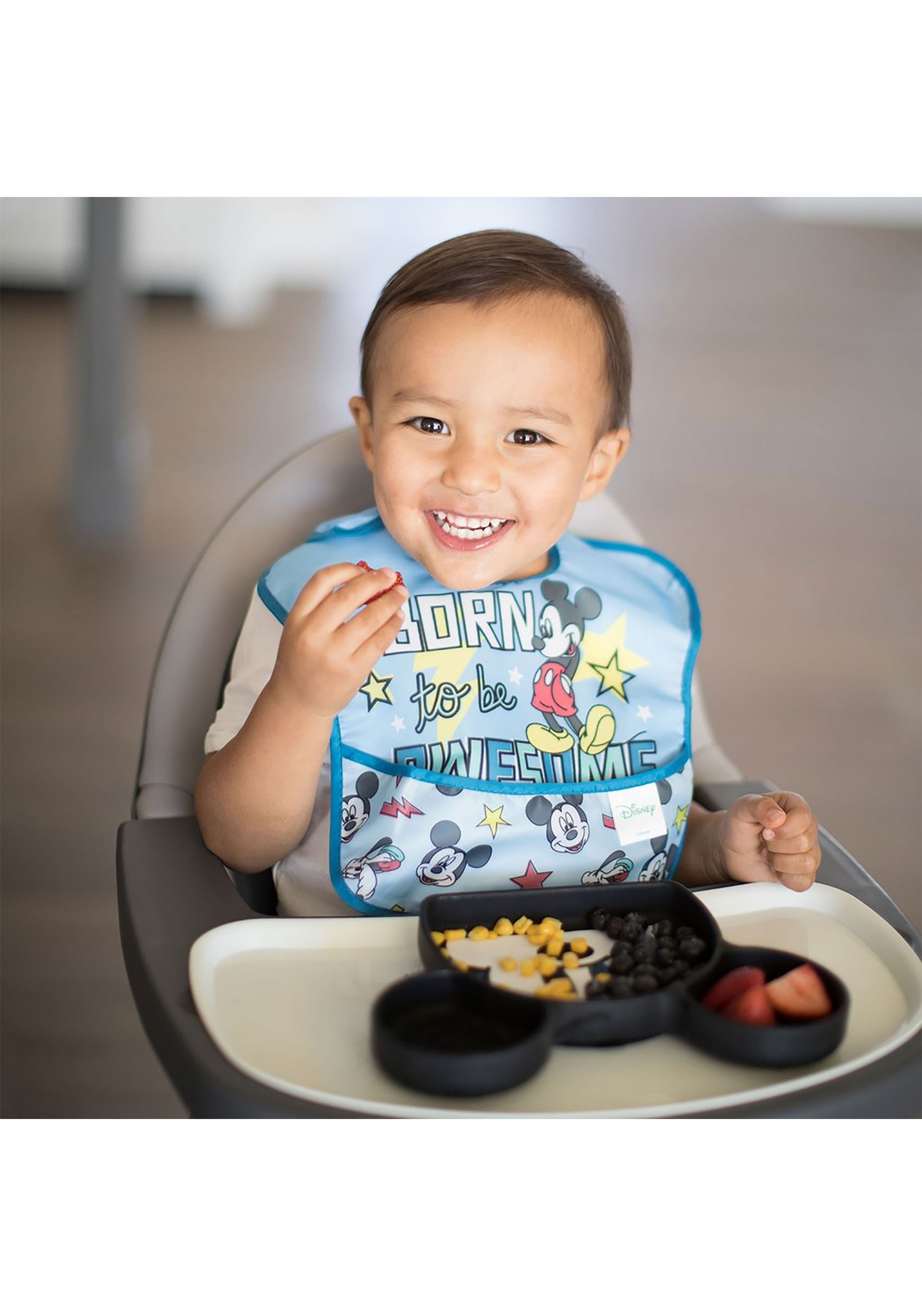 Disney Mickey Mouse SuperBib 2-Pack (Ages 6-24 Months)
