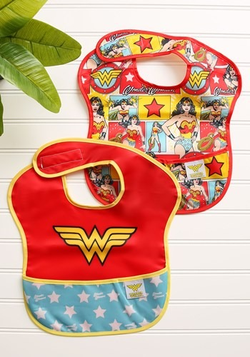 Wonder Woman SuperBib 2 Pack for 6 24 Months
