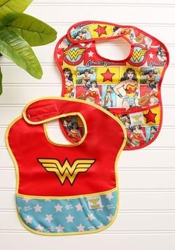 Wonder Woman SuperBib 2 Pack (6-24 months)