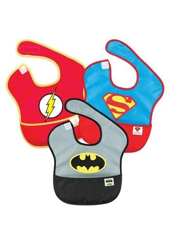 Justice League SuperBib 3 Pack- Batman, Superman, The Flash