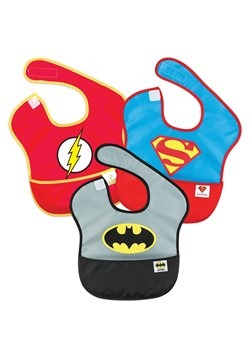 Justice League SuperBib 3 Pack- Batman, Superman, The Flash