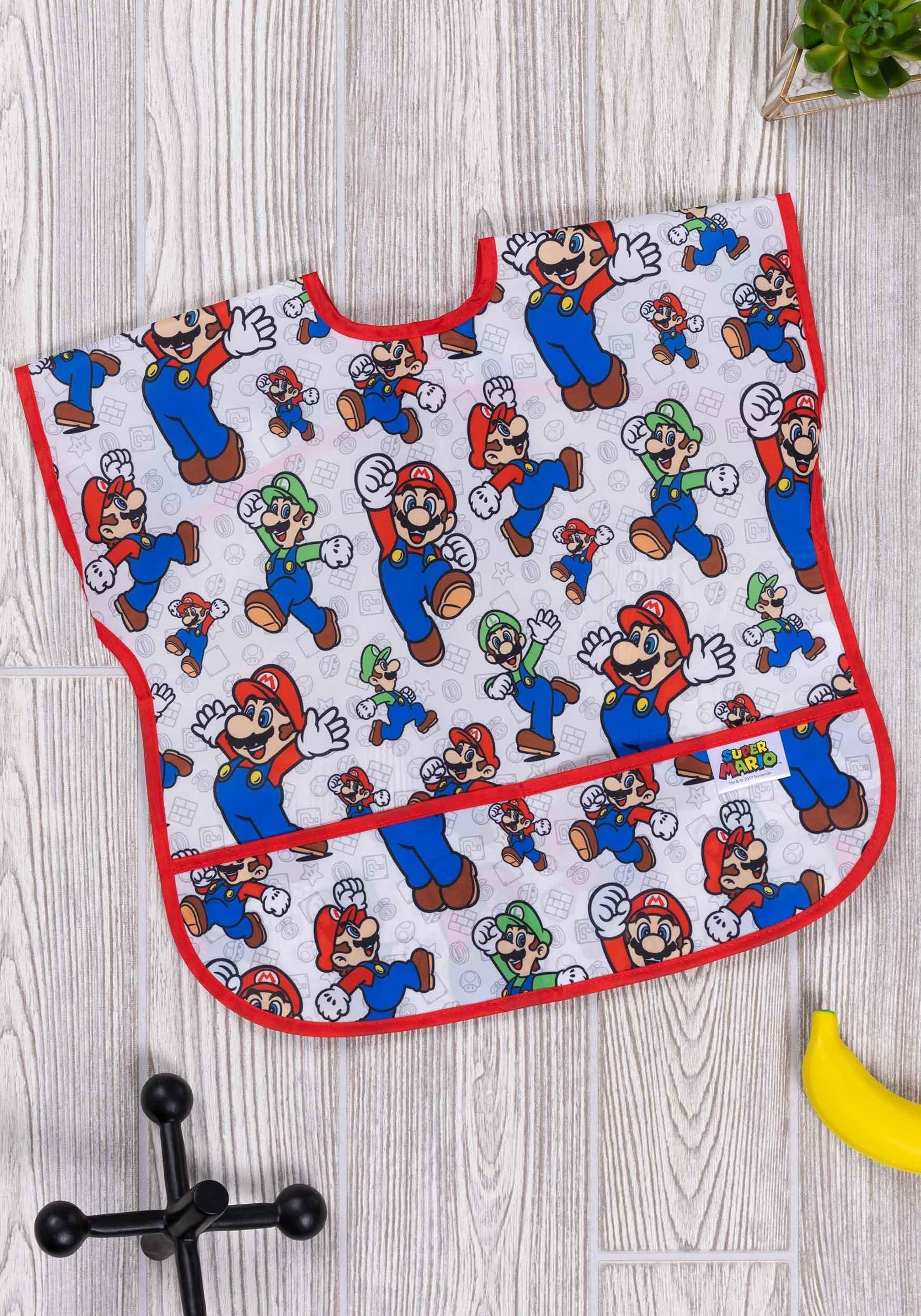 Nintendo Super Mario & Luigi Juniors Bib (1-3 years)