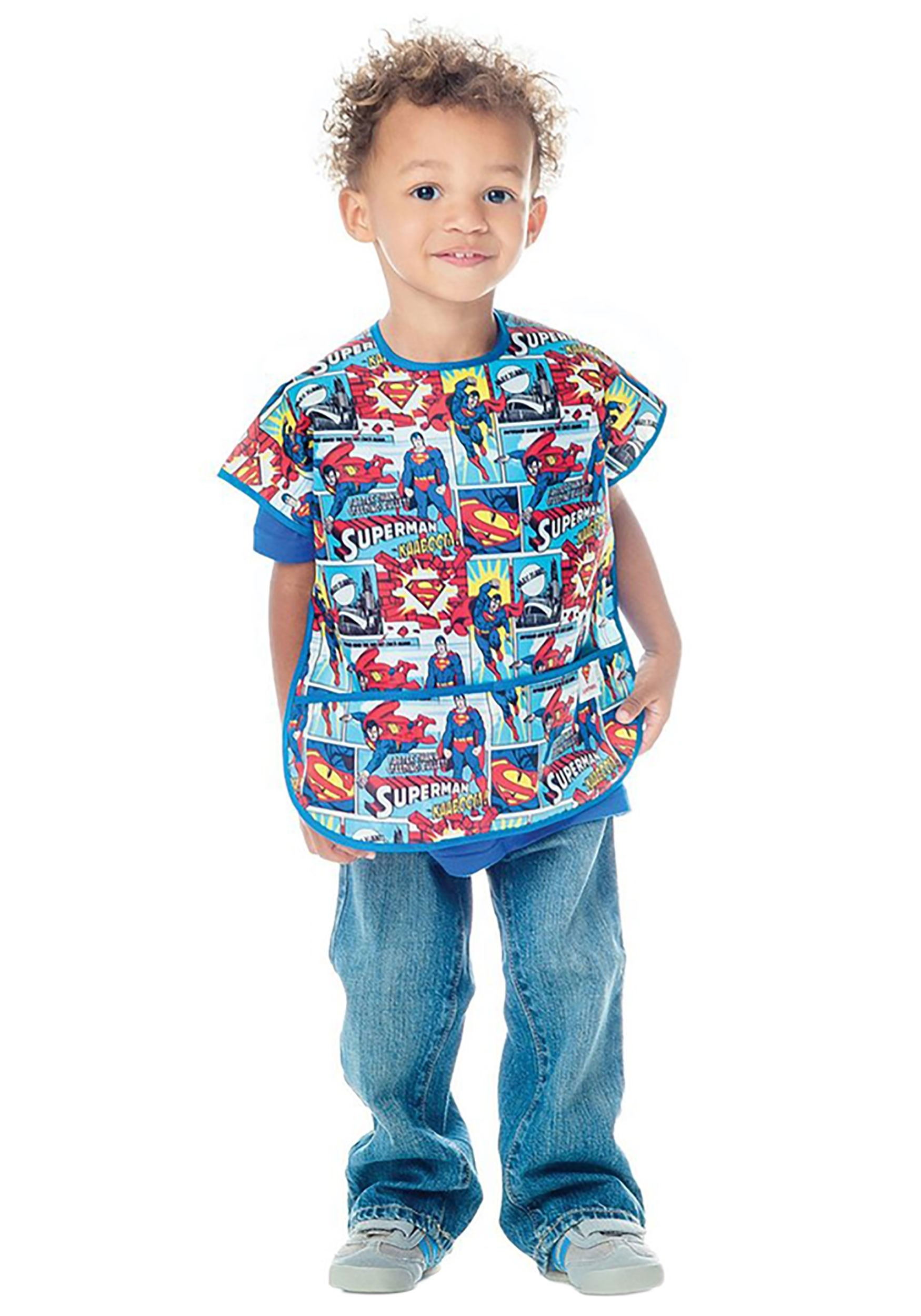 Comic Strip Superman Juniors Bib (1-3 years)
