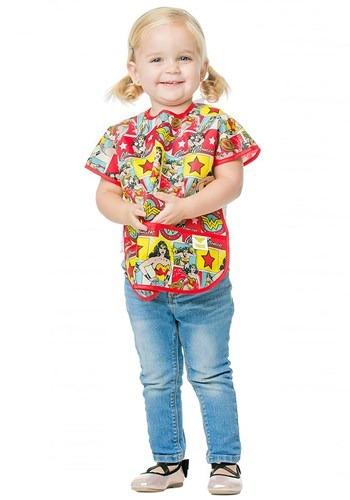 Wonder Woman Juniors Bib for Ages 1 3