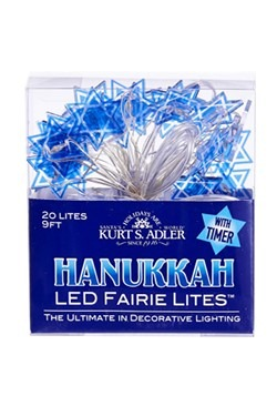 Star of David 20 Light Fairy Light Set