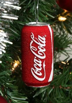 Coca Cola Can Resin Ornament