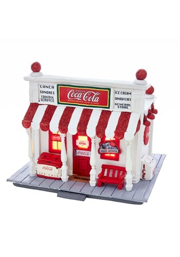 Coca-Cola Claydough General Store w/ LED Light