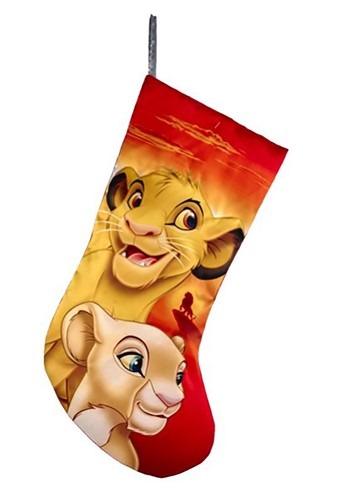 Lion King Simba & Nala Stocking