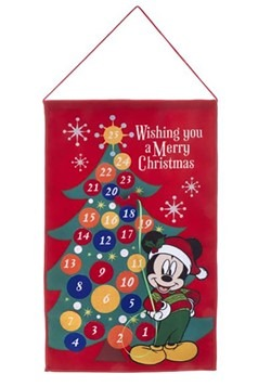 Mickey Mouse Fabric Advent Calendar