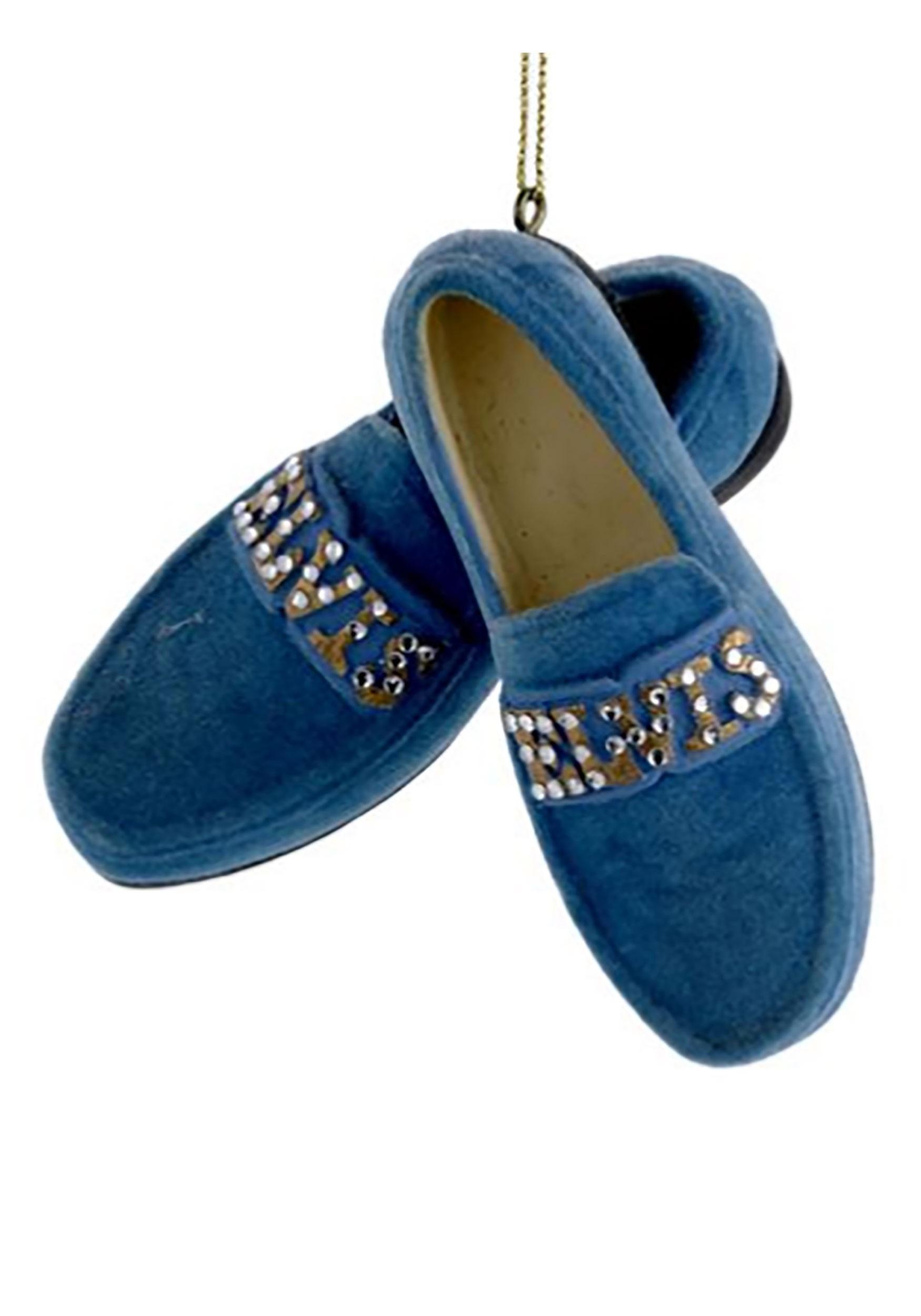 Blue Suede Shoes Elvis Ornament