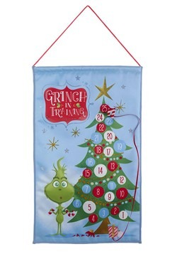 Fabric Grinch Advent Calendar