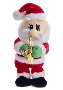 Dancing Jazz Santa