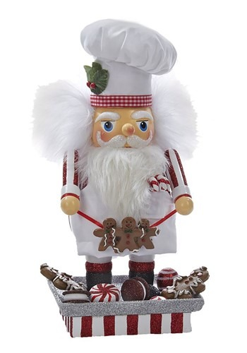 """Santa Gingerbread Chef 12"""" Hollywood Nutcracker"""