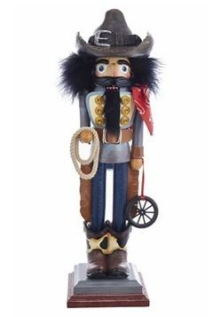 """Cowboy Hollywood 19"""" Nutcracker"""