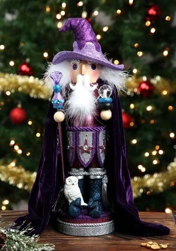 "Purple Wizard 18"" Hollywood Nutcracker"