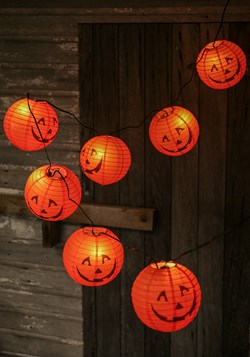 Halloween Lantern Patio Light Set