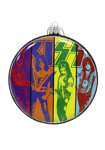 Kiss Blow Mold Disc Ornament
