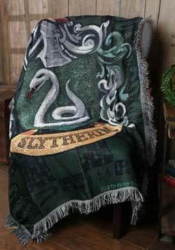 Harry Potter Slytherin Shield Woven Tapestry Blanket