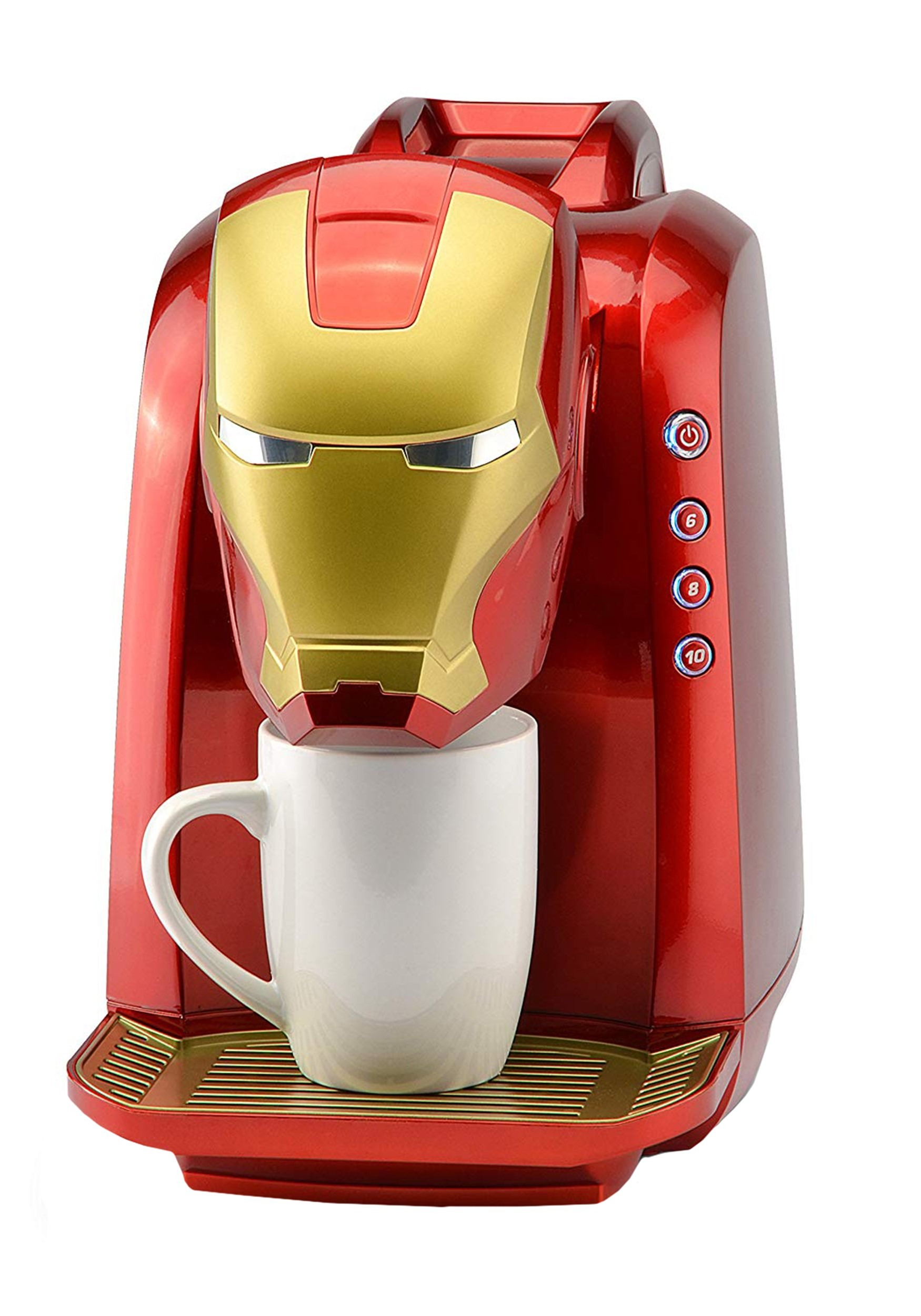 Clever Iron Man Single Serve Coffee Maker