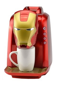 Iron Man Single Serve Coffee Maker