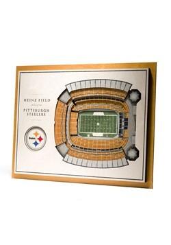 Pittburgh Steelers 5-Layer Stadium Wall Art