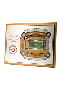 Pittsburgh Steelers 5-Layer Stadium Wall Art