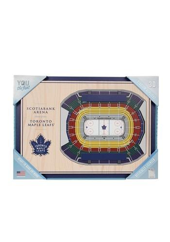 Toronto Maple Leafs 5-Layer Stadium Wall Art