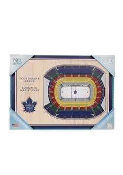 Toronto Maple Leafs 5-Layer Stadium Wall Art