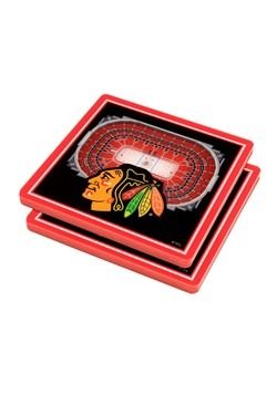 Chicago Blackhawks 3D Stadium Coasters