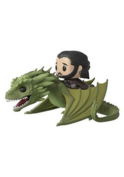Pop TV Game of Thrones Season 8 Jon Snow with Rhaegal