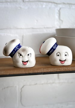 Ceramic Ghostbusters Salt Pepper Shakers