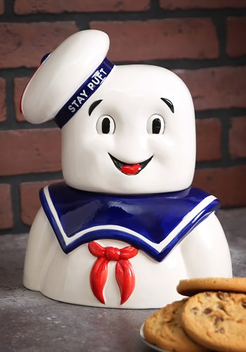 Ghostbusters Stay Puft Cookie Jar upd