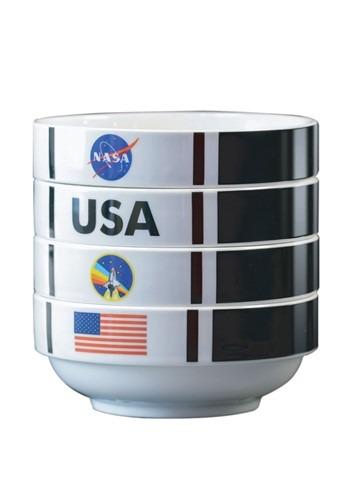 NASA Shuttle Stackable Bowl Set