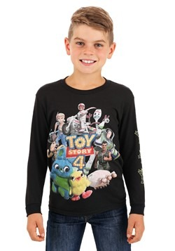 Toy Story 4 Character Group Boys Long Sleeve Shirt