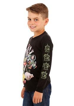 Toy Story 4 Character Group Boys Long Sleeve Shirt Alt 1