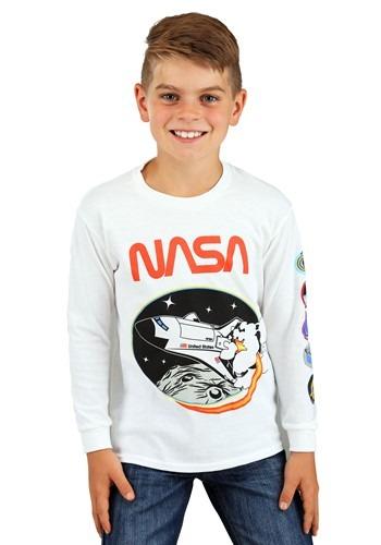 NASA Boys Long Sleeve Shirt