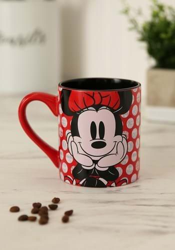 Minnie Mouse Polka Dot 14oz Ceramic Mug update