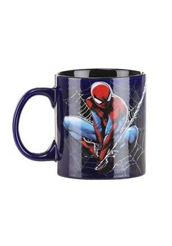 Spider Man Icon and Web 20oz Jumbo Ceramic Mug