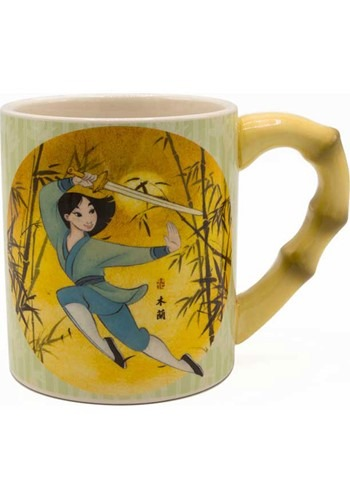 Disney Mulan 20oz Ceramic Mug w/ Sculpted Handle