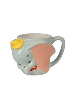 Disney Dumbo Face Ceramic Sculpted Mug