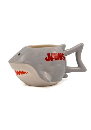 Jaws Shark Sculpted Mug