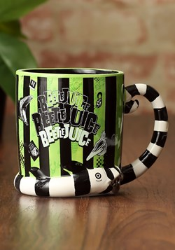 Beetlejuice Sculpted Mug