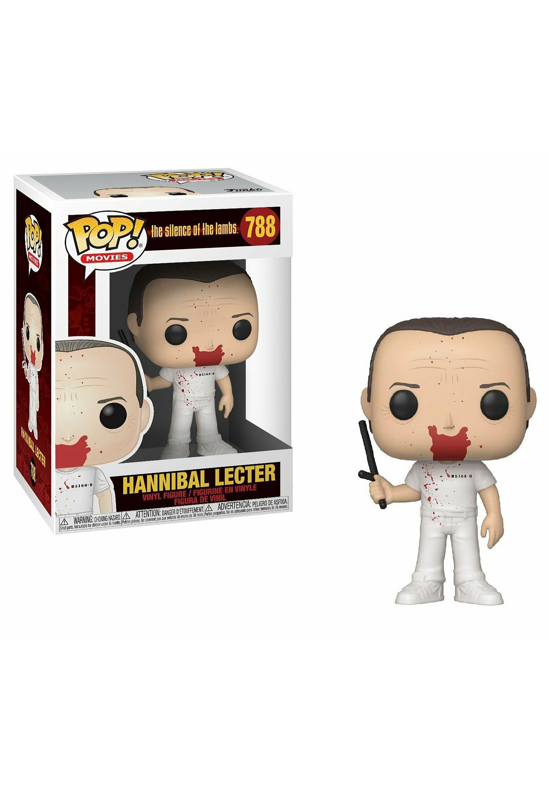 Hannibal Lecter The Silence of the Lambs Movies Vinyl Figure POP