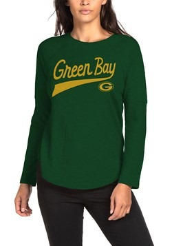 Green Bay Packers Womens Hunter Green Super Soft Thermal