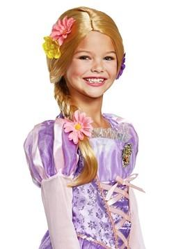 Tangled Rapunzel Deluxe Wig Kids 1