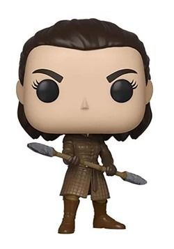 Pop TV: Game of Thrones- Arya w/ Two Headed Spear