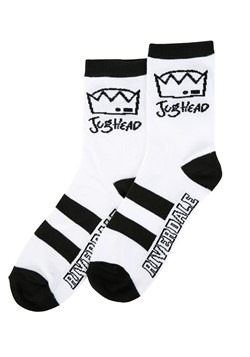 Riverdale Jughead Line Hat Low Crew Socks