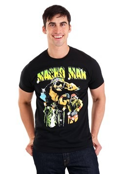 WWE Macho Man Randy Savage Collage Crew T-Shirt