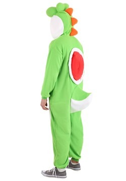 Super Mario Brothers Adult Yoshi Kigurumi Costume Alt 1